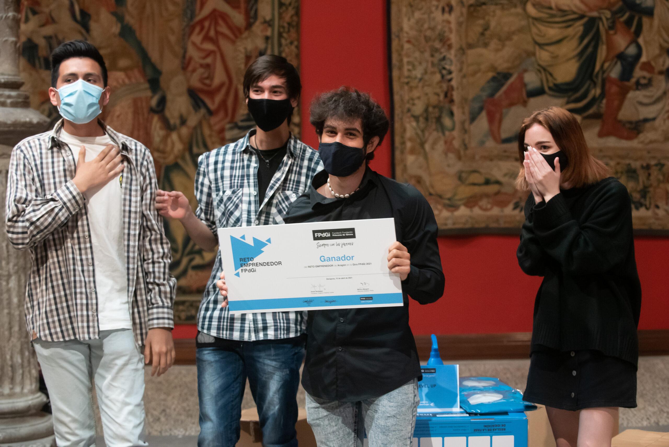 La gran final del Reto Emprendedor se celebrará este viernes en Zaragoza